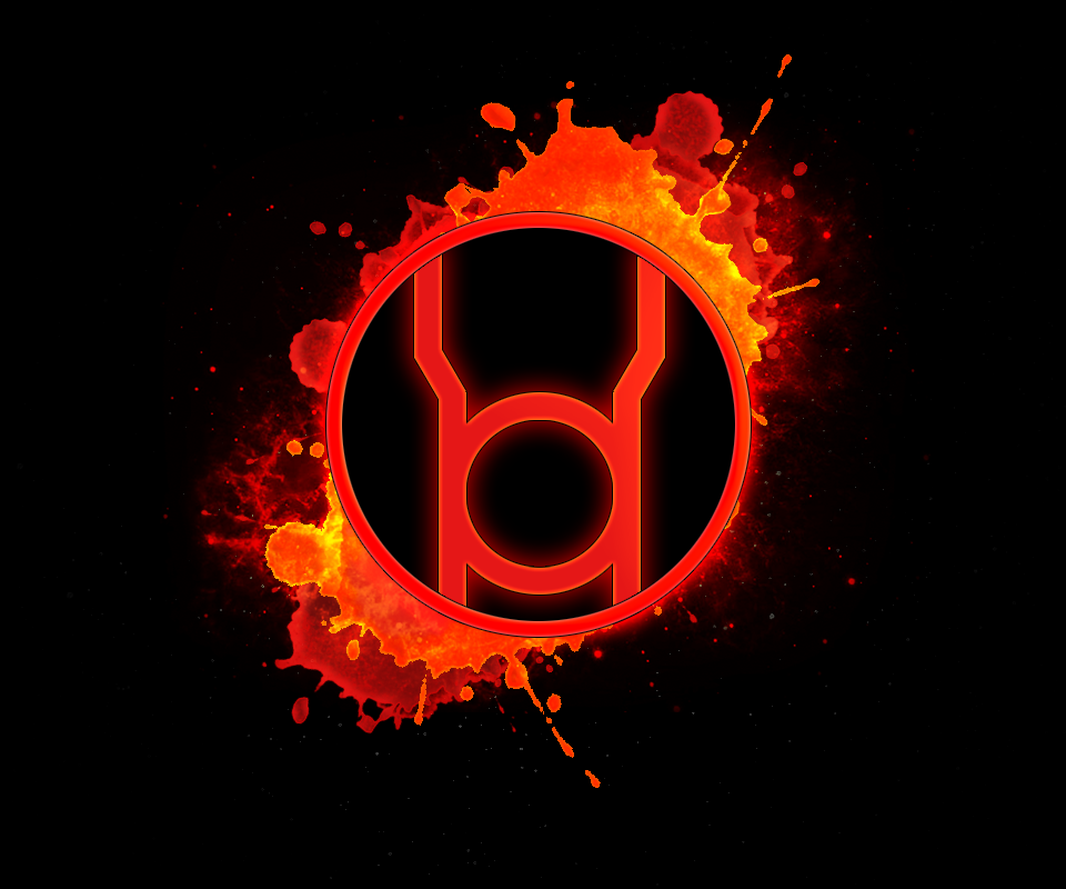 Red lantern corps symbol wallpaper - photo#16