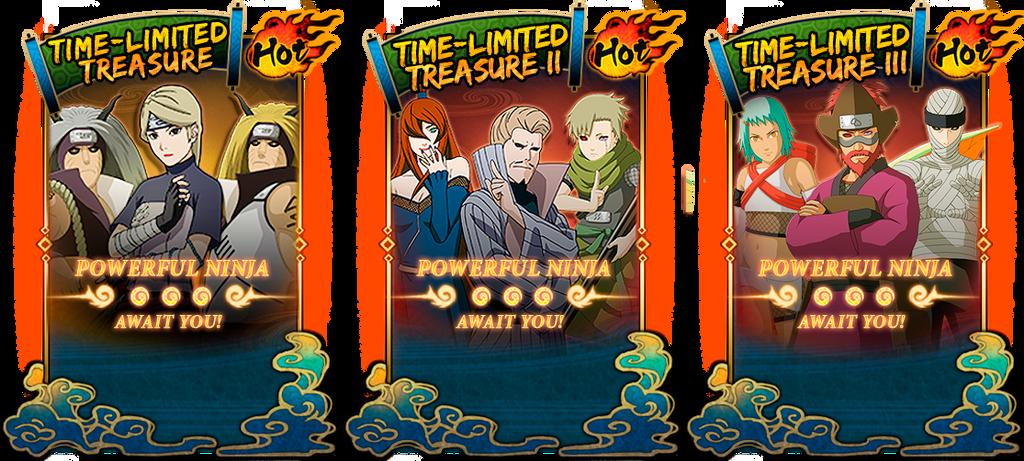 Naruto Online EN - Time-Limited Treasures by danteg9b on