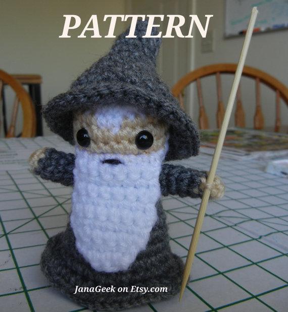 Amigurumi On The Go Download : Crochet Pattern for Gandalf the Gray Amigurumi by janageek ...
