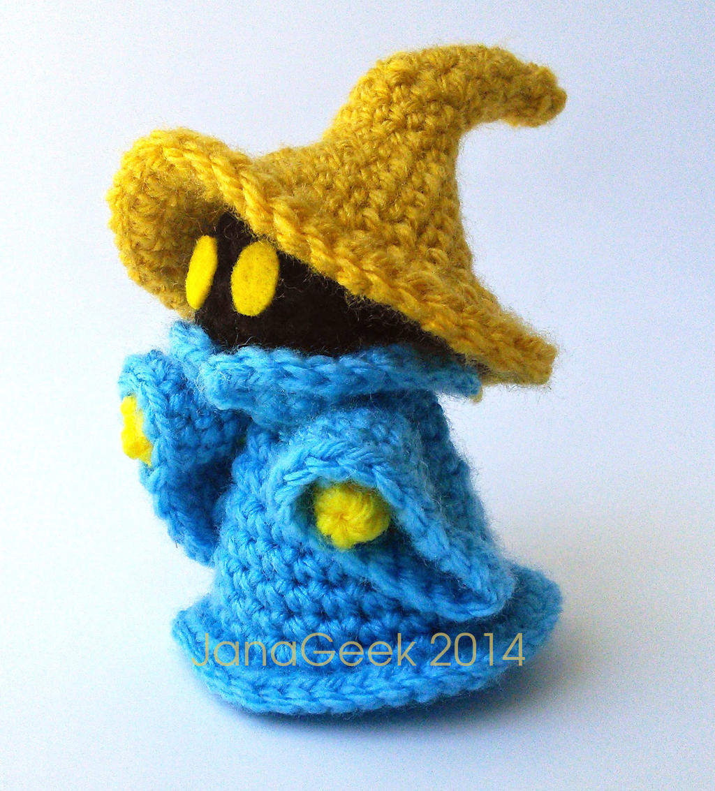 Crochet Fantasy : Final Fantasy Black Mage Crochet Doll by janageek on DeviantArt