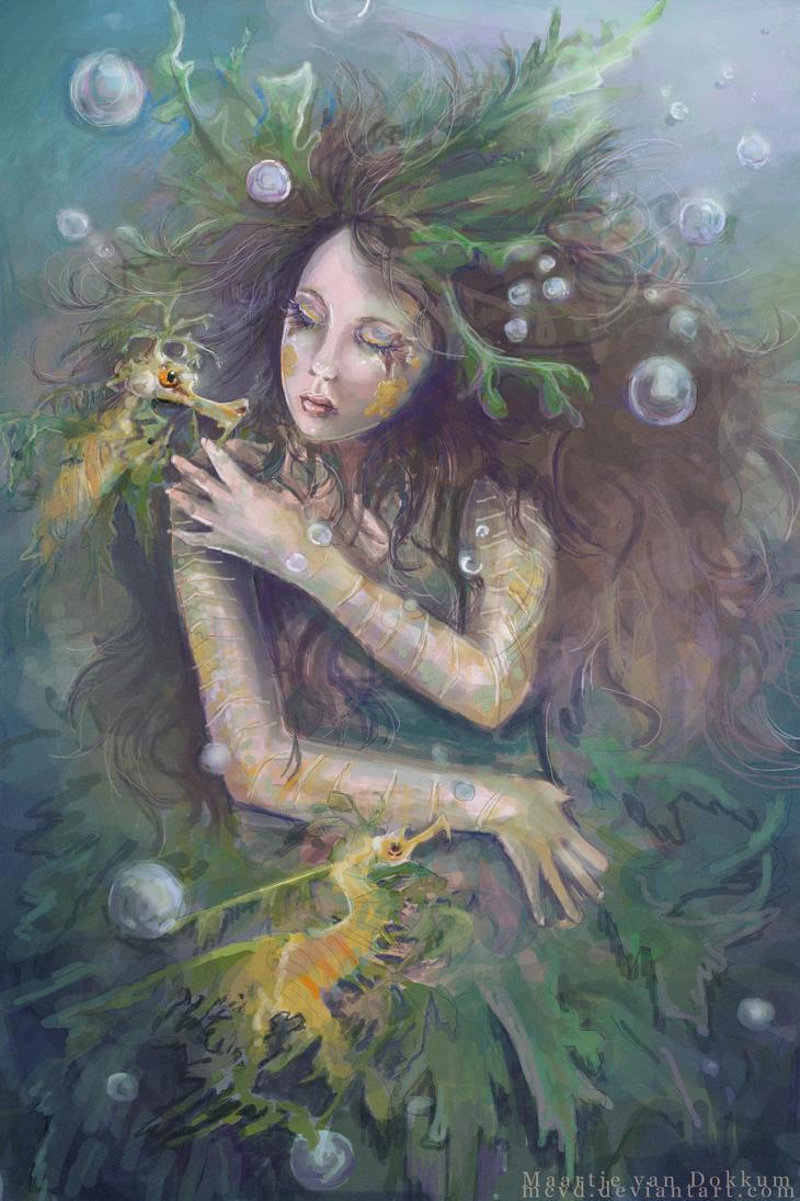 Leafy Seadragon by MCVD