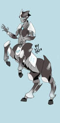 Fedelity - Centaur Transformer Oc by KaonsChampion