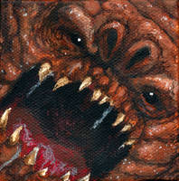 canvas Rancor by AokiBengal