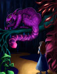 Cheshire Cat Colored