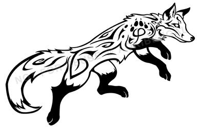 Tribal Fox by AokiBengal