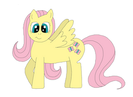 Fluttershy by The-Rainbow-Faerie