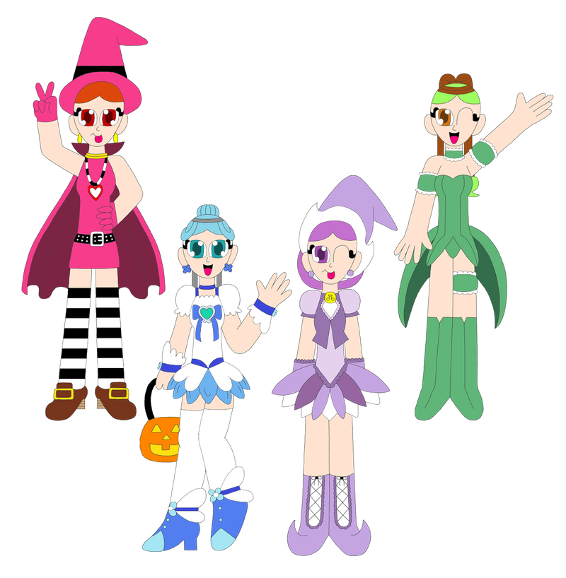 Halloween 2012 - Chibi Asteroids by The-Rainbow-Faerie