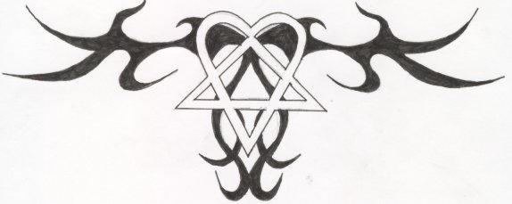 tattoo lettering alphabet_03. heartagram tattoos. heartagram tattoo. heartagram tattoo by;