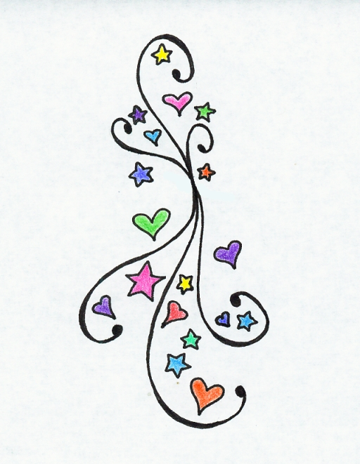 Hearts and Stars Design by mypetsally
