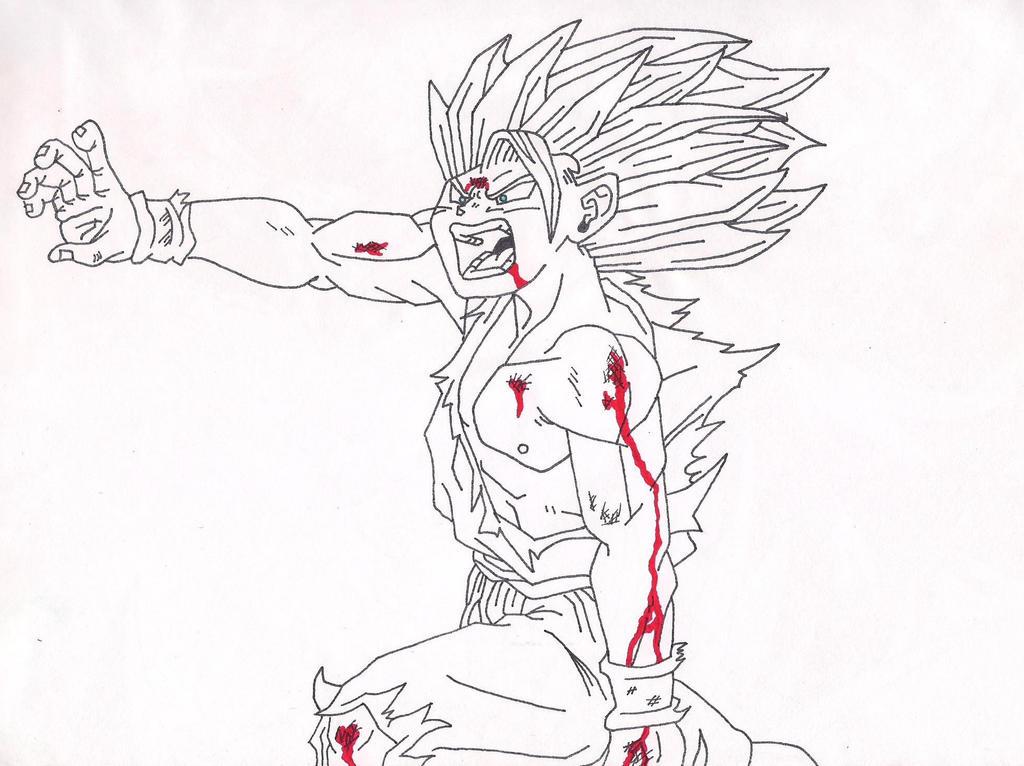 Dibujos Para Colorear De Dragon Ball Z Gohan Ssj2 Ideas: Gohan SSJ2 Kame-Hame-Ha! By Leaxed On DeviantArt