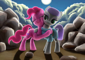 Pinkie and Maud by odooee