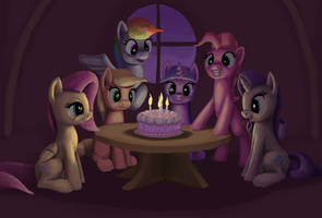 MLP's 4th Year by odooee