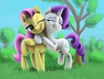 Rarity Flutter Hug