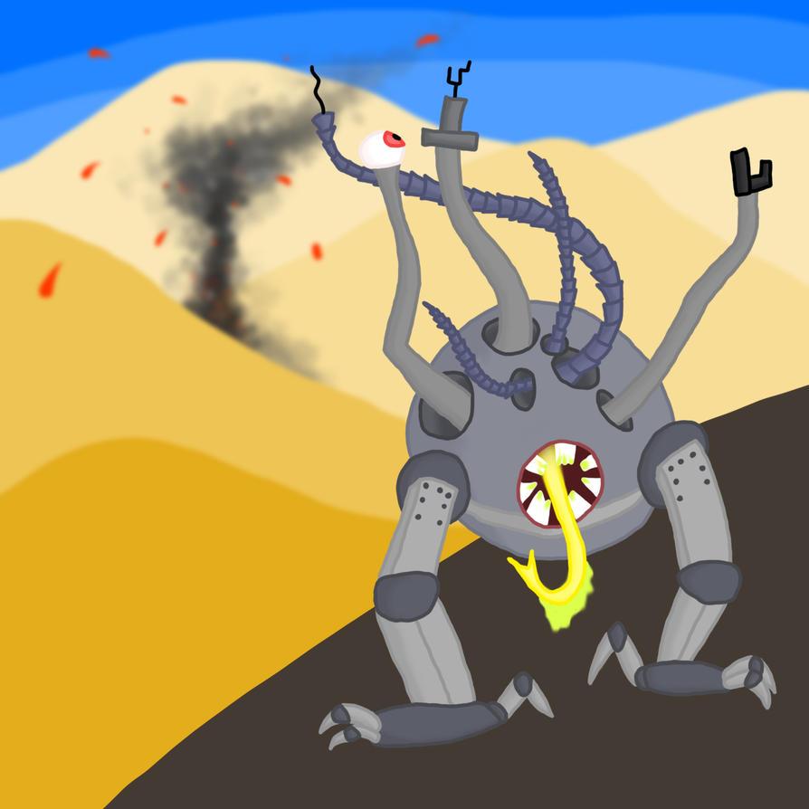 Cyborg Strike by Cyber-Shroom