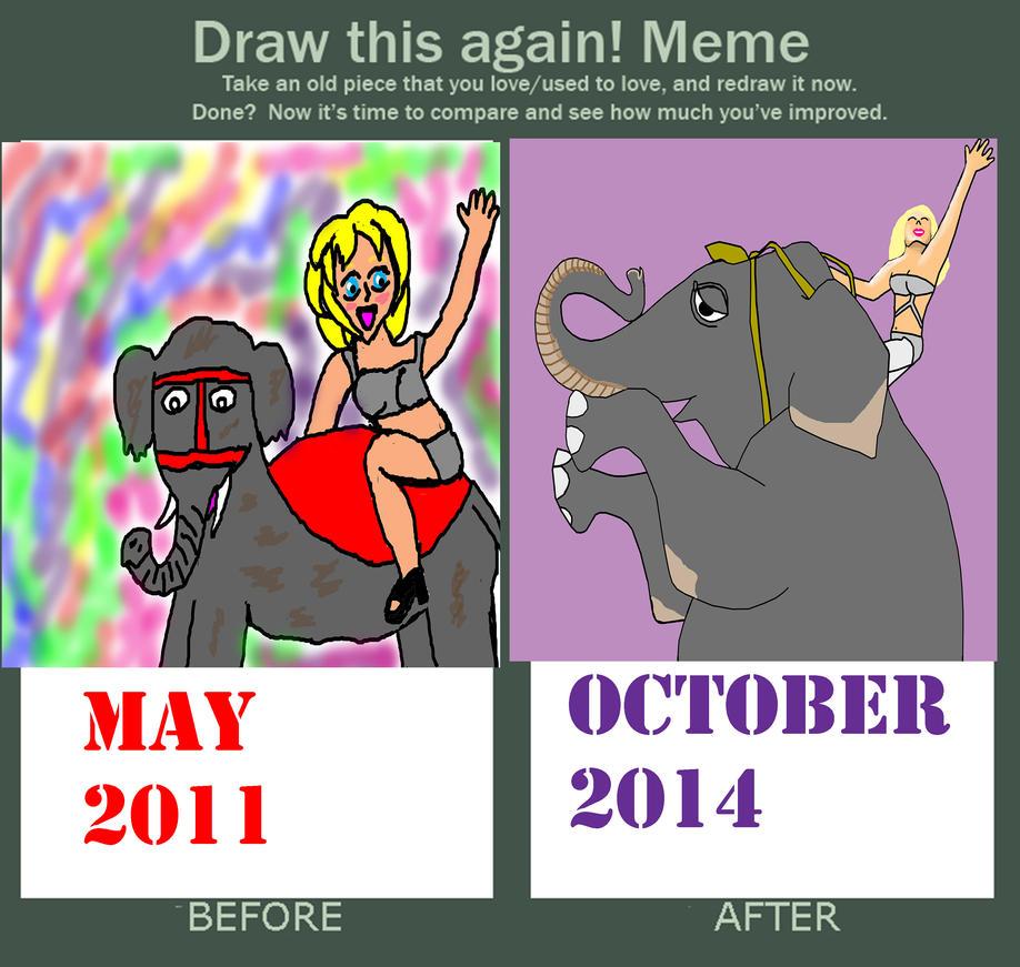 Water For Elephants Draw It Again Meme by BabyFaceCrossbones