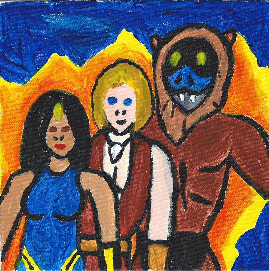 Thundarr, Ariel, Ookla by FallOutWoman