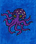 Purple Octopus by RebelScumWoman77