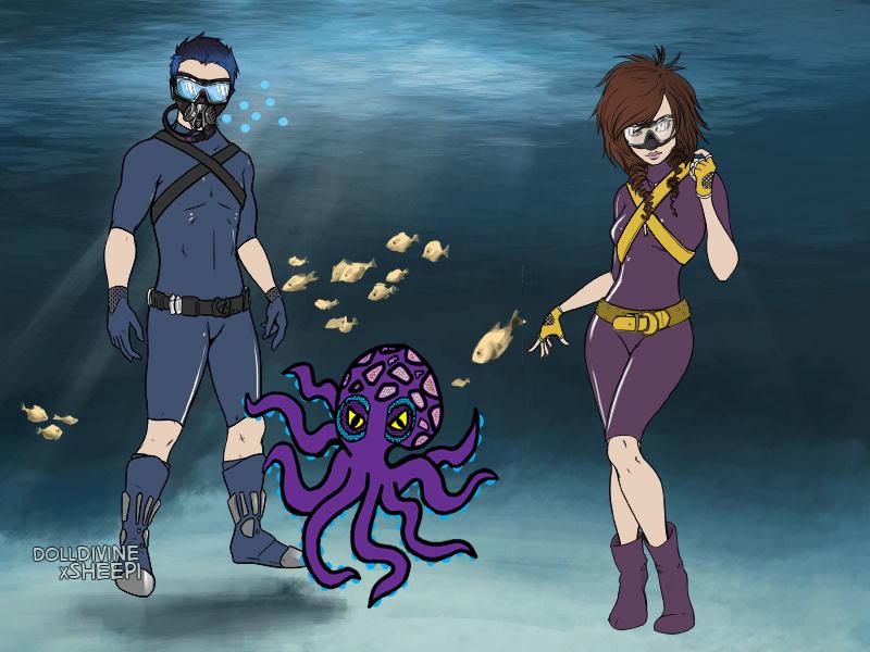 Scuba Diving Days by ArielKamikaze