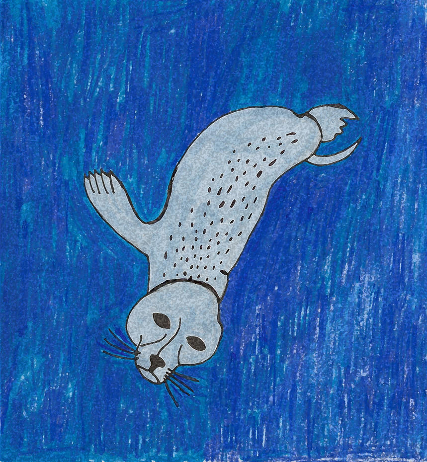 Seal Diving Sponge Filter by JessieRamoneGirl