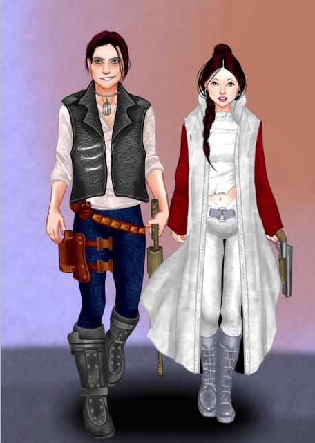 Princess Leia X Han Solo by RebelScumWoman77 ...  sc 1 st  DeviantArt & Princess Leia X Han Solo by RebelScumWoman77 on DeviantArt