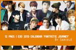 [PNG] EXO 2013 Calendar by sarielk