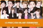 [PNG] EXO SMART Exhibition render