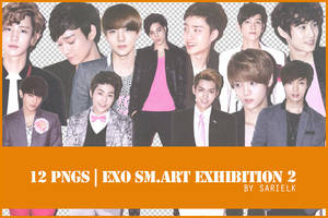 [PNG] EXO SMART Exhibition render pack 2 by sarielk