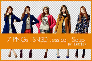 [PNG] SNSD Jessica - Soup by sarielk