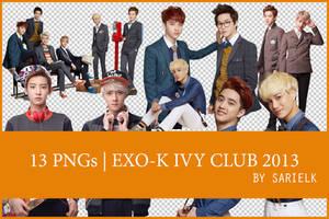 [PNG] EXO-K Ivy Club 2013 by sarielk