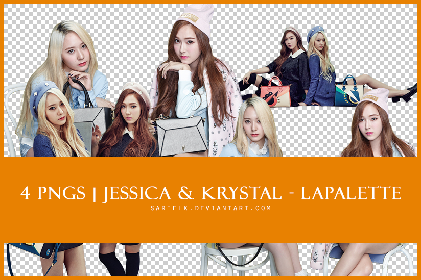 [PNG] SNSD Jessica / f(x) Krystal - Lapalette by sarielk
