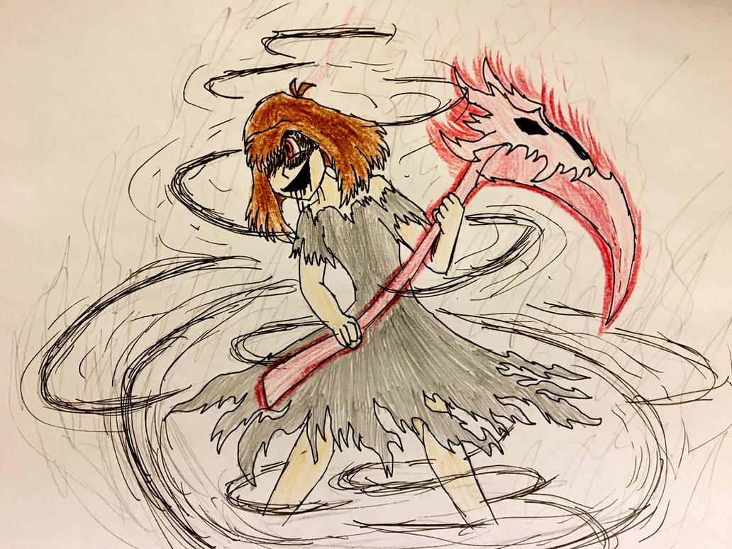 Reapertale Chara (Fanart) by DoritoDoge