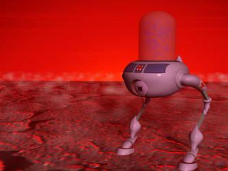 Biobot by 3dben