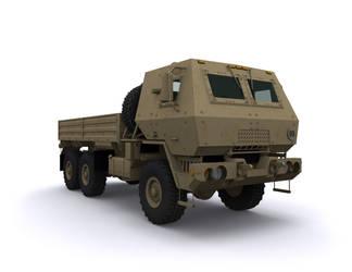 FMTV 6x6 Cargo Armored by 3dben