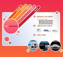 Portfolio Web Site by xxsuexx