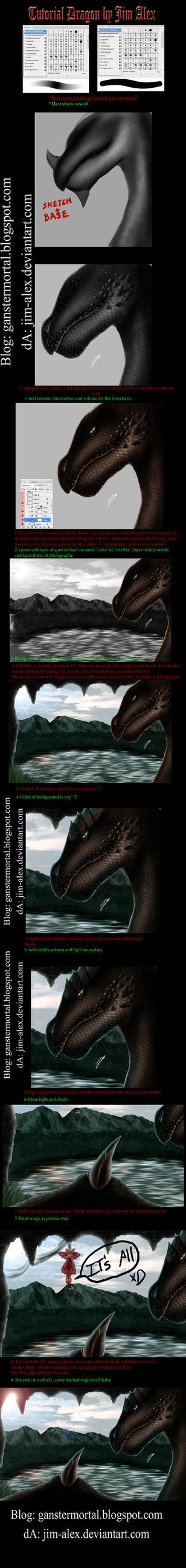 Tutorial Dragon by Jim Alex by jim-alex