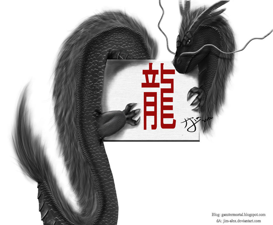 Team Dragon, Dragon Chinese by jim-alex