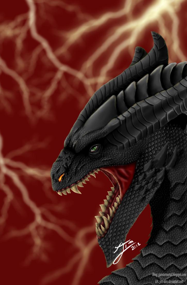 Dragon Black by jim-alex