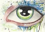 Eyes Splash Acrylic