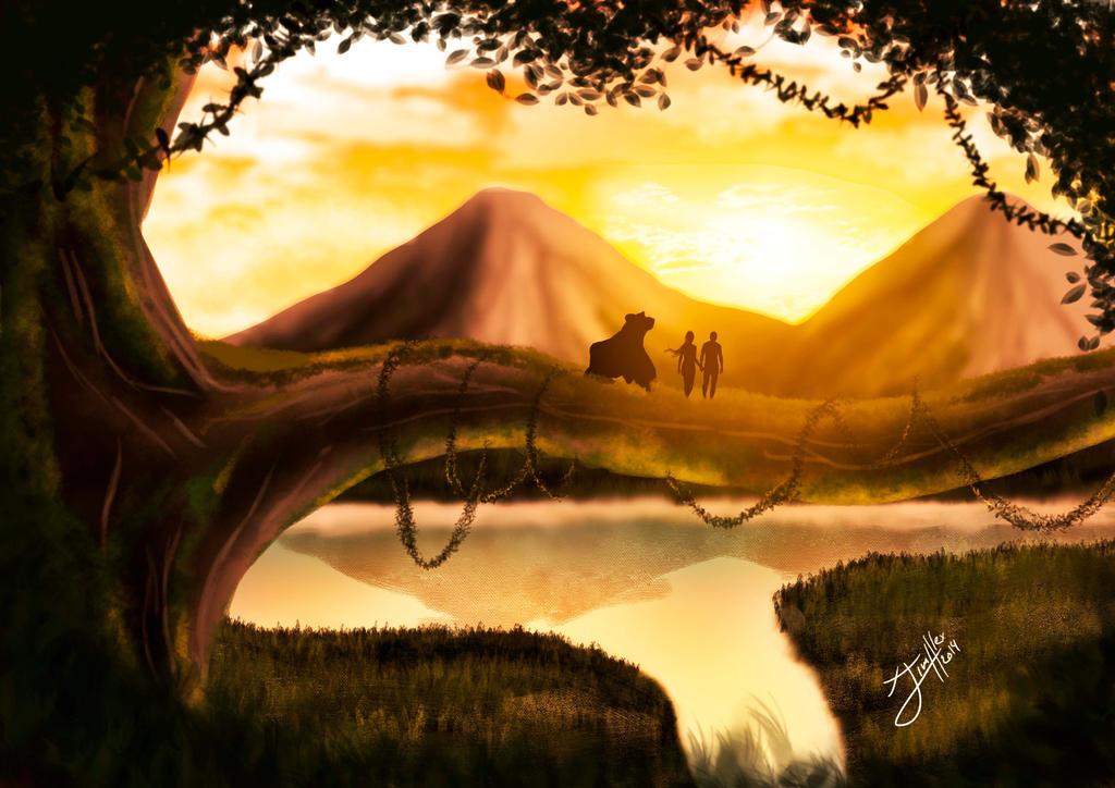 Tarzan by jim-alex