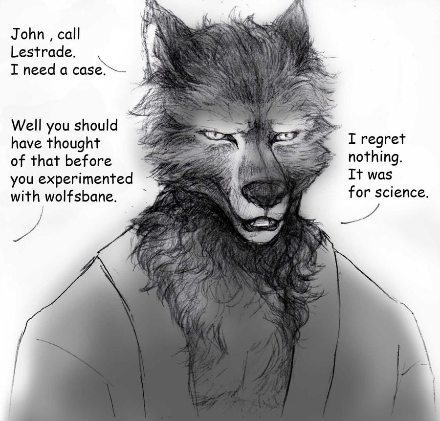 Werewolf Sherlock By Beauw0lf On Deviantart