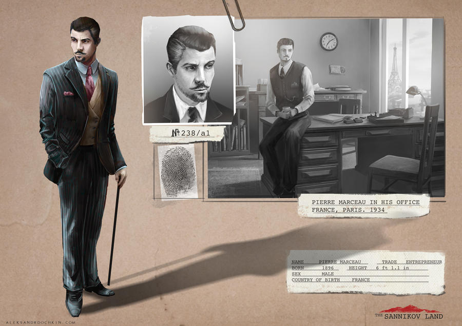 The Sannikov Land - Character design by Androno25