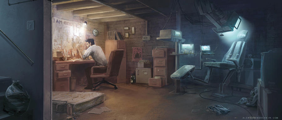 Detective's room by Androno25