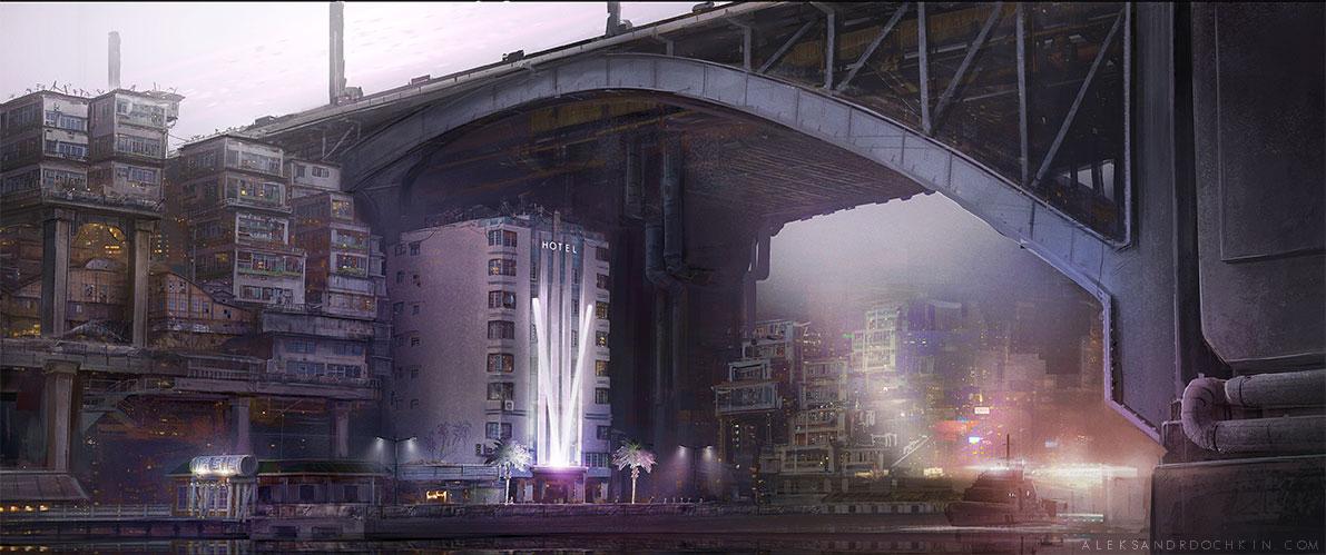 UBIK - Under the bridge by Androno25
