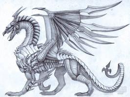 Steel Edge Dragon by jiachengwu
