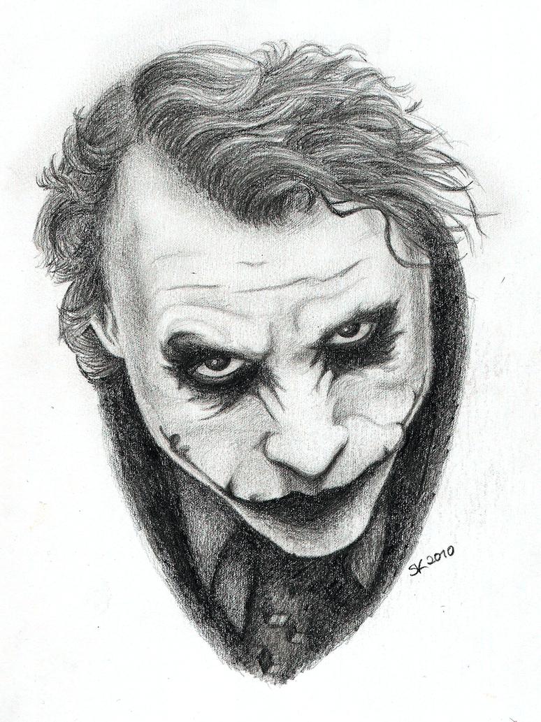 the joker why so serious by sandraen on deviantart