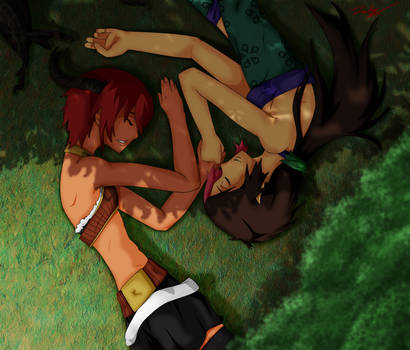 Nap Amongst the Trees by Ruby-Hime