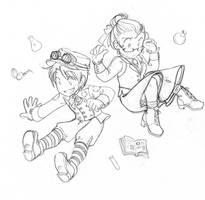 :LLDA - Alexander and Elaine: by Karmada
