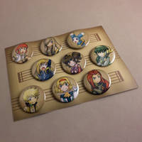 :Tales of the Abyss Button Set: by Karmada