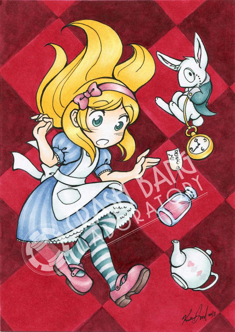 Alice in Wonderland by Karmada on DeviantArt