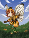 Nutmeg - The Pumpkin Fairy